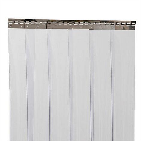 Rideau lanière PVC